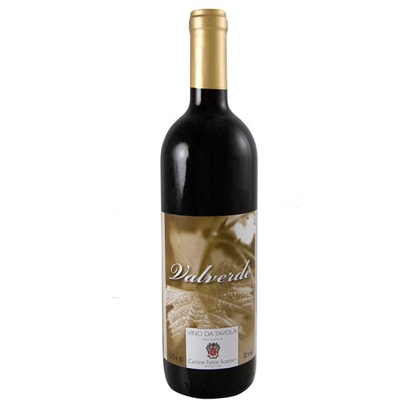 Vino rosso da tavola Valverde